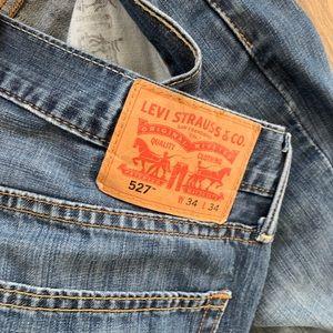 Levi's Jeans - 34x34 Levi's 527 Slim Bootcut Jeans
